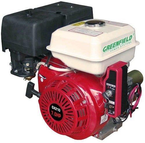 Двигатель Greenfield.